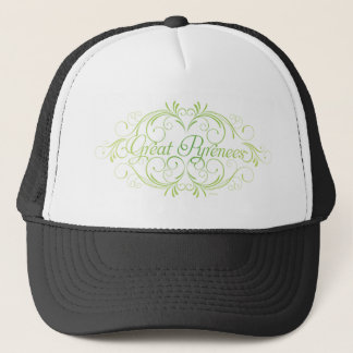 Elegant Great Pyrenees Trucker Hat