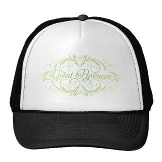 Elegant Great Pyrenees Trucker Hat
