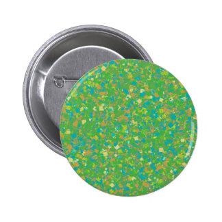 Elegant Green Confetti TEMPLATE Add text image fun 2 Inch Round Button