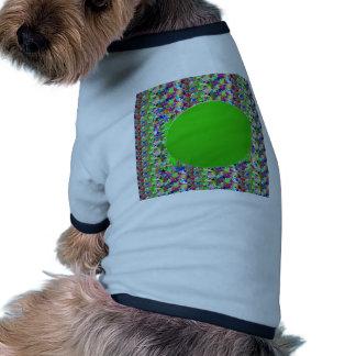 Elegant Green Disc Template:Add txt img Greetings Dog Tee Shirt