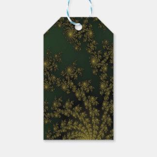 Elegant Green Oriental Pleasure Gift Tags