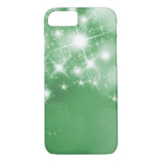 Elegant Green Sparkle Faux Foil iPhone 8/7 Case
