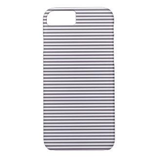 Elegant Grey Striped Pattern Case-Mate iPhone Case
