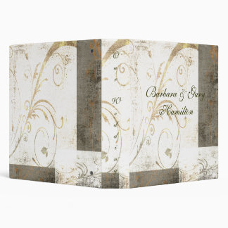 Elegant Grunge Wedding Binder