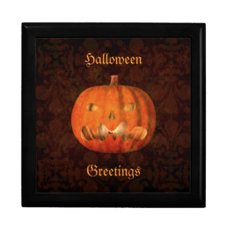 Elegant Halloween jack o lantern decor Gift Box