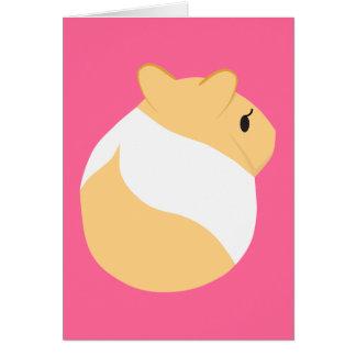 Elegant Hamster Card