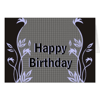 Elegant Happy Birthday Greeting Cards