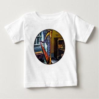 Elegant Harp Baby T-Shirt