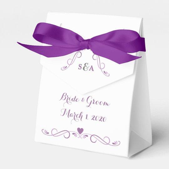Elegant Heart Frame Wedding Favour Box