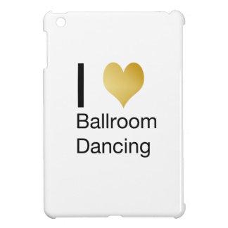 Elegant I Heart Ballroom Dancing iPad Mini Cases