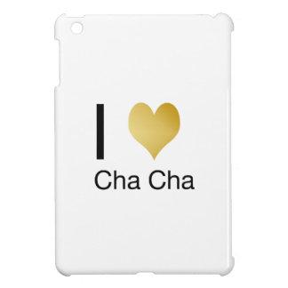 Elegant I Heart Cha Cha iPad Mini Case
