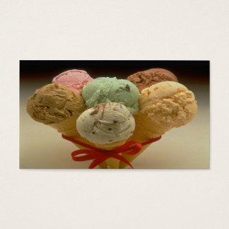 Elegant Ice Cream Business Card