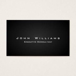 Elegant independent minimalist professional business card