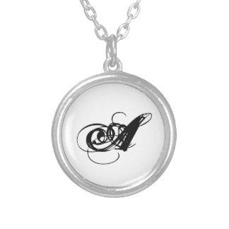 Elegant Initial Necklace 'A'