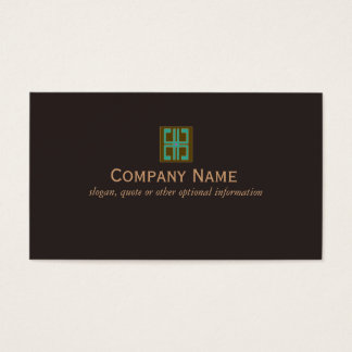 Elegant Interior Designer Business Card
