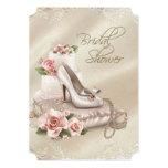 Elegant Ivory Bridal Shower Card