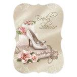 Elegant Ivory Bridal Shower Invites