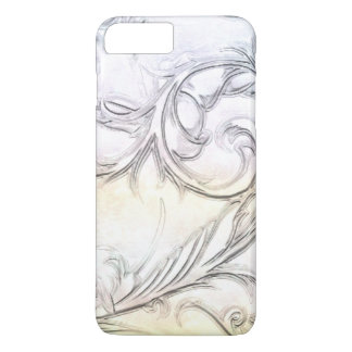 Elegant Ivory Simulated Carved Gemstone iPhone 8 Plus/7 Plus Case