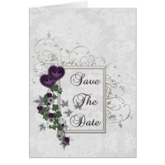 Elegant Ivy Wedding Suite Save the Date Card