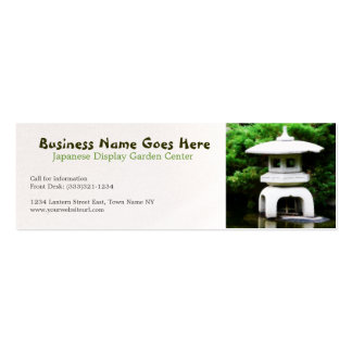 Japanese Restaurant Business Cards and Business Card