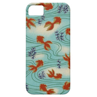 Elegant Japanese Washi Origami Koi Goldfish Case For The iPhone 5