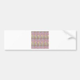 Elegant Jewel Pattern Romance Bless NVN288 fun gif Bumper Sticker