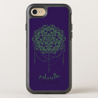 Elegant Jeweled Zen Mandala iPhone 7 Case