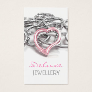Elegant Jewellers Business Card