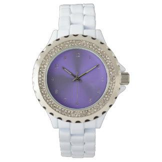 Elegant Lavender Purple Watch