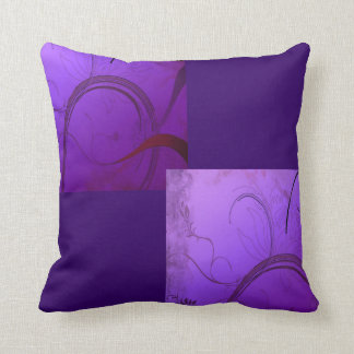Elegant Lavender Throw Pillow
