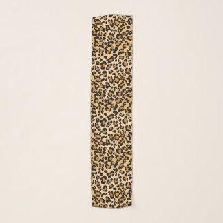 Elegant Leopard Animal Print Pattern Scarf