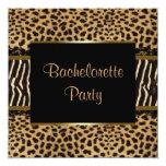 Elegant Leopard Zebra Bachelorette Party
