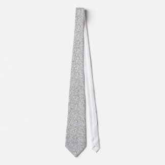 Elegant Light Gray Glitter & Sparkles 2 Tie