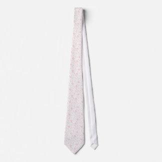 Elegant Light Pink Floral Pattern Tie