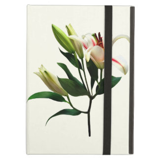 Elegant Lily and Buds Cover For iPad Air
