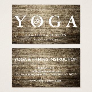 Elegant Logo Yoga Meditation Business Card