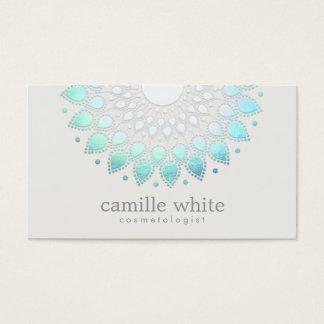 Elegant Lotus Holistic Spa and Beauty Business Card