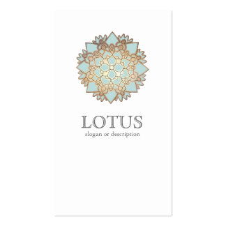 Elegant Lotus Women's Fashion Boutique White Pack Of Standard Business Cards
