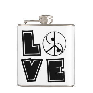 Elegant Love Flask