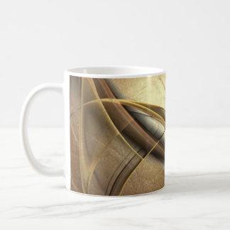 Elegant Luxury Leather Look Coffee Mug