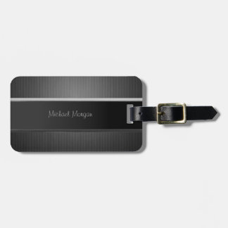 Elegant Luxury ,Striped Luggage Tag