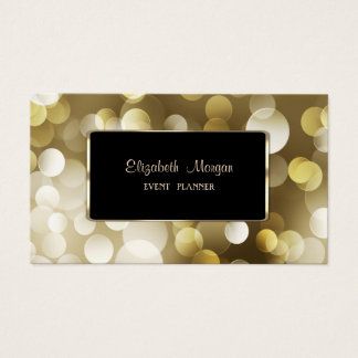 Elegant Luxury Stylish,Bokeh Business Card