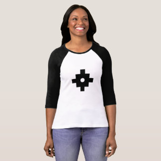 Elegant Machu Picchu Geometric Design T-Shirt
