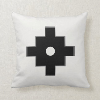 Elegant Machu Picchu Geometric Design Throw Pillow