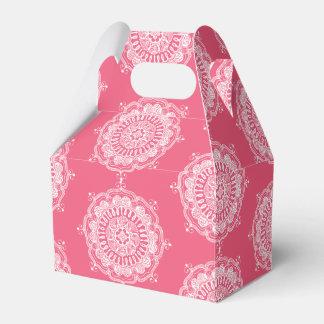 Elegant Mandala Art Favor Box
