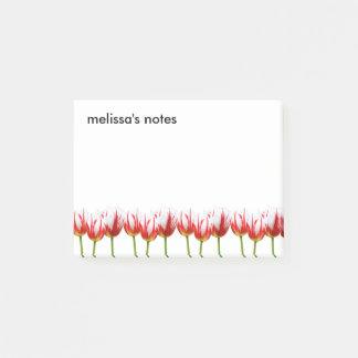 Elegant Maple Leaf Tulips Post-it Notes