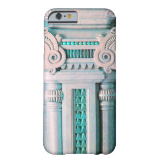 ELEGANT MARBLE COLUMN,PINK BLUE INTERIOR DESIGN BARELY THERE iPhone 6 CASE