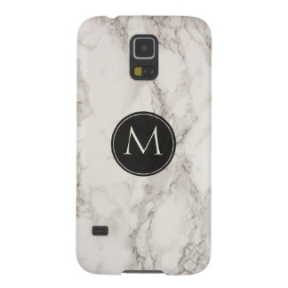 Elegant Marble Design Fashion Monogram Case For Galaxy S5