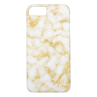 Elegant Marble - Gold White iPhone 8/7 Case