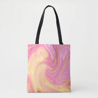 Elegant Marble - Peach Tote Bag